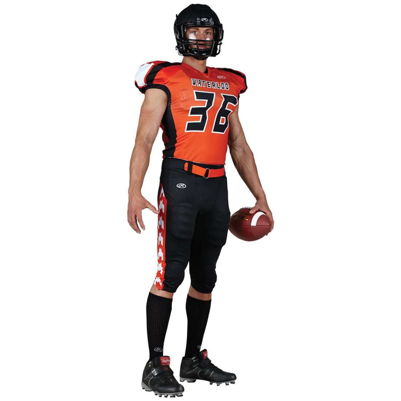 Rawlings Adult Sublimated Football Jersey - Waterloo - League Outfitters