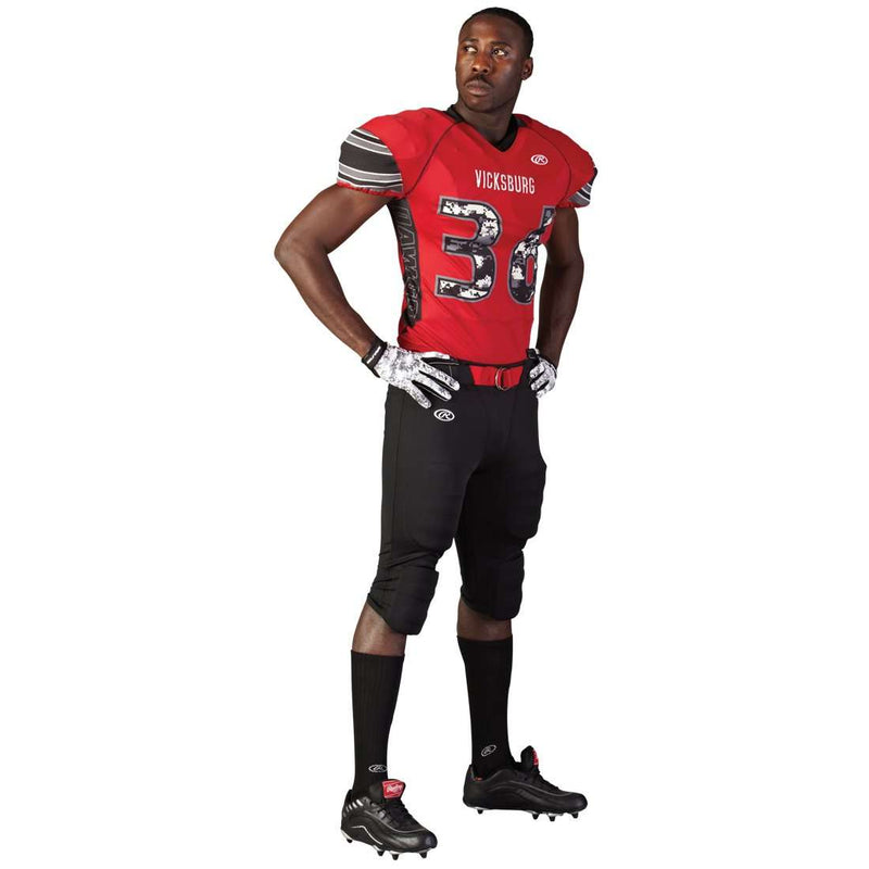 Rawlings Youth Tackle Twill Football Jersey - Vicksburg - League Outfitters