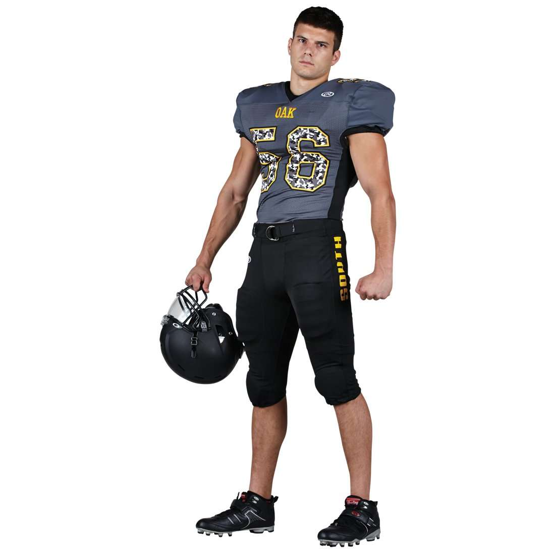 76048c2b5 Rawlings Adult Tackle Twill Football Jersey - Oak – League Outfitters