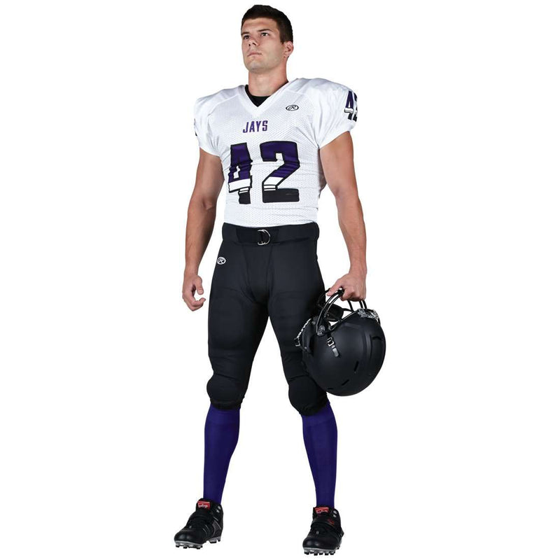 Rawlings Adult Tackle Twill Football Jersey - Jays - League Outfitters