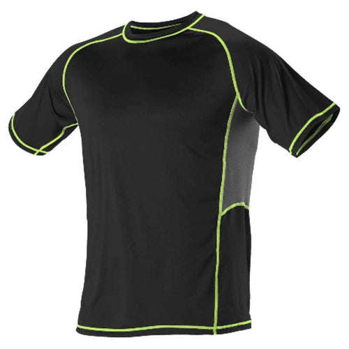 Alleson Youth Fitted Short Sleeve Training Shirt - League Outfitters