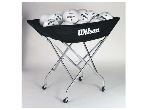 Wilson Indoor Stand Up Volleyball Cart - League Outfitters
