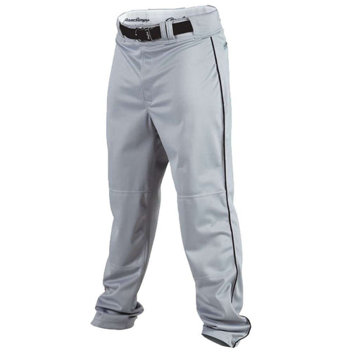 Rawlings Youth Flare Relaxed Fit Pro Weight Piped Baseball Pants - League Outfitters