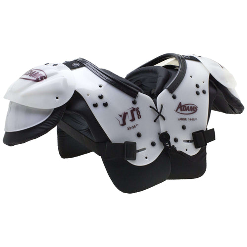 Adams Youth Blocker Football Shoulder Pads - League Outfitters