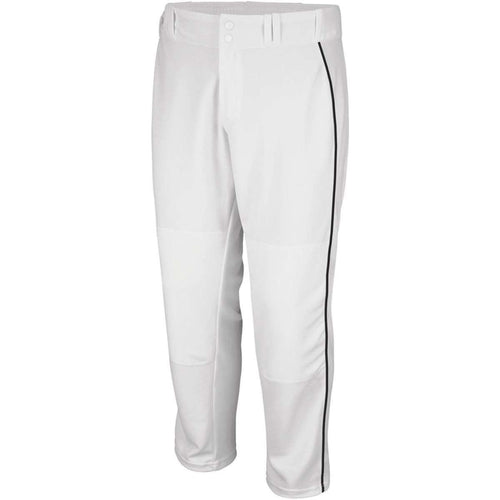 Majestic Adult Cool Base Premier Relaxed Fit Braided Baseball Pant - League Outfitters