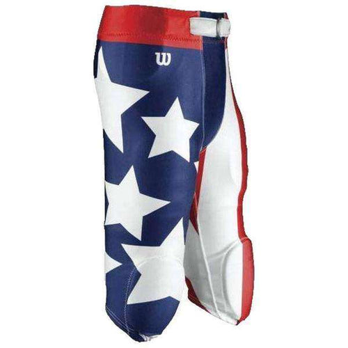 Wilson Adult Sublimated Football Pants - America - League Outfitters
