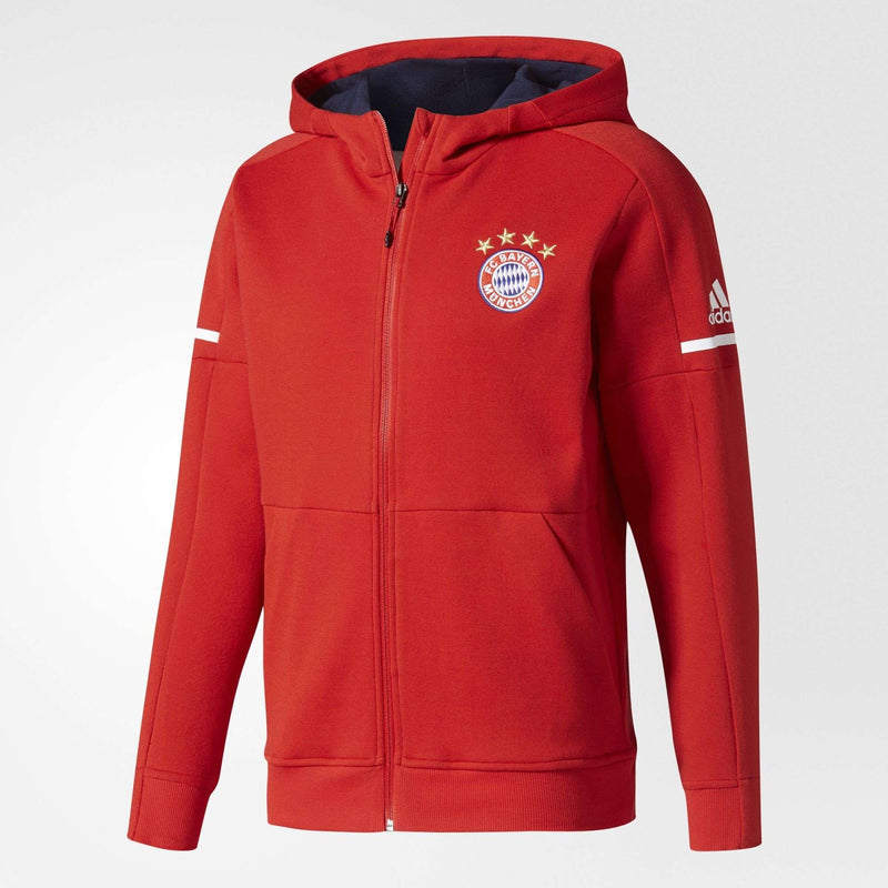 adidas FC Bayern Munich Anthem Squad Men's Hoodie - League Outfitters