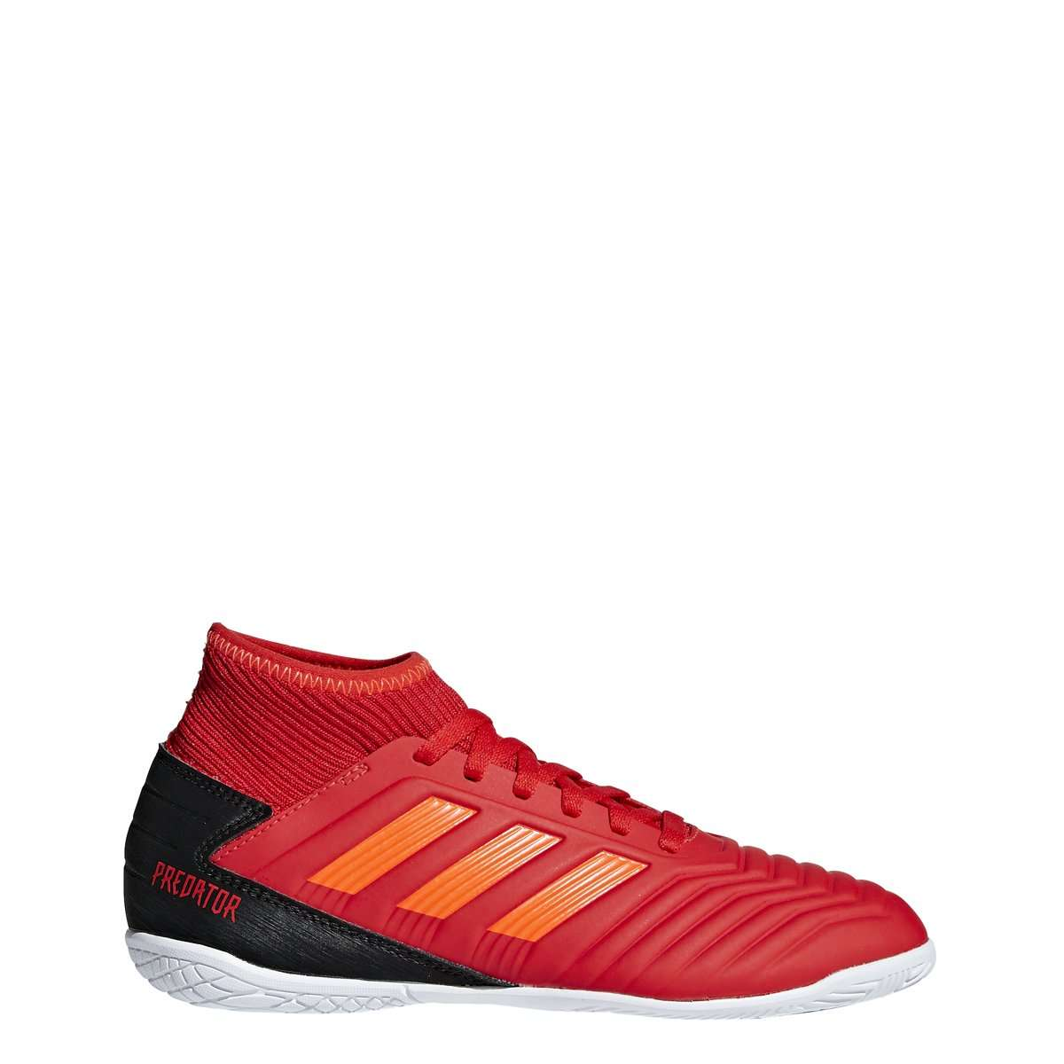 796072c2991 adidas Predator 19.3 Youth Indoor Soccer Cleats - 10.5K   Active Red Solar  Red Core Black