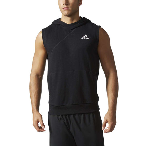 adidas Cross Up Sleeveless Men's Basketball Hoodie - League Outfitters