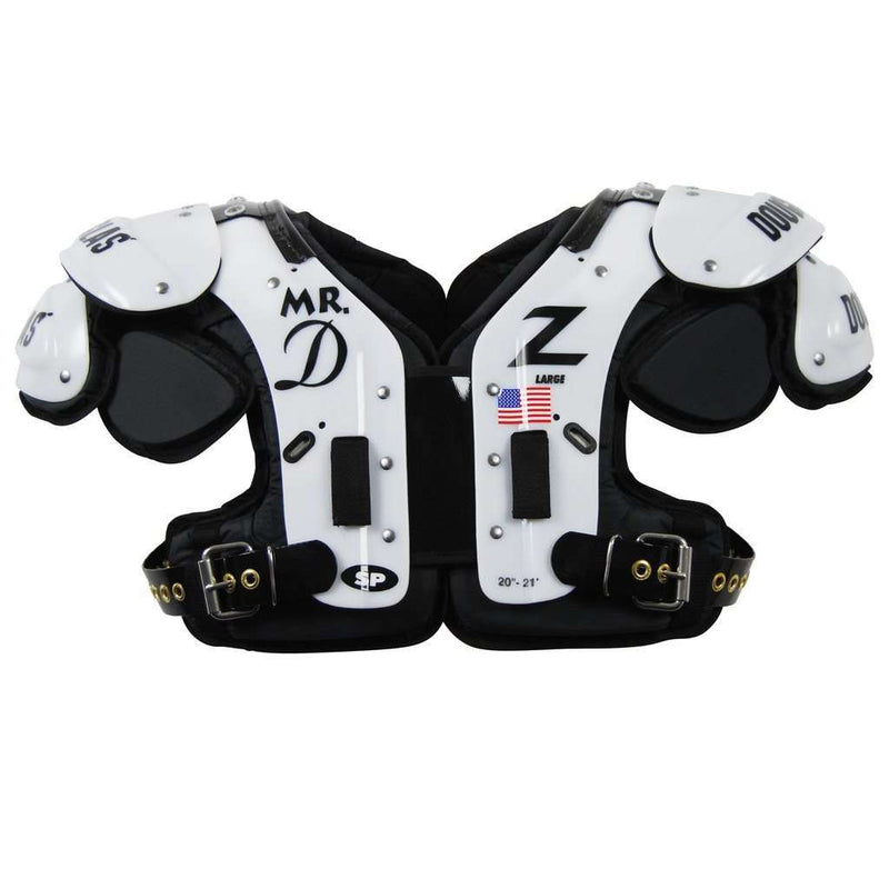 Douglas SP MR DZ LB/FB Adult Shoulder Pads - League Outfitters
