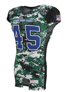 Rawlings Youth Sublimated Football Jersey - Warriors - League Outfitters