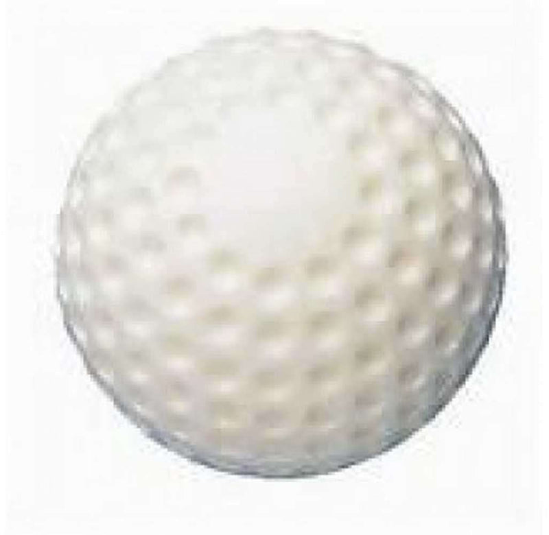 "Tag 12"" Dimpled White Baseballs (Half Dozen) - League Outfitters"