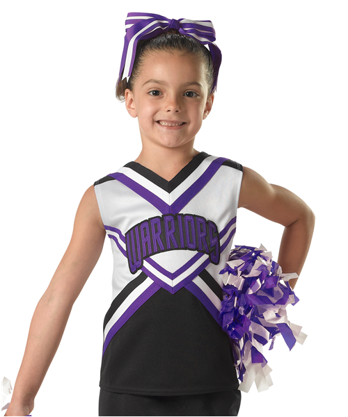 Alleson 181 Harmony Youth Cheerleading Shell - League Outfitters