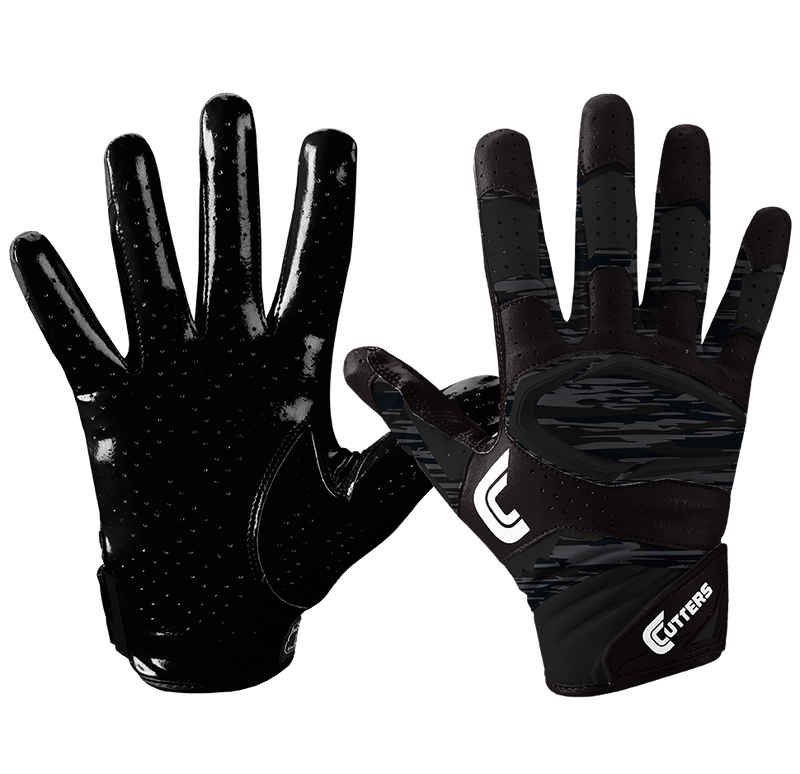 Cutters Youth Rev Pro 2.0 Phantom Camo Receiver Gloves - League Outfitters