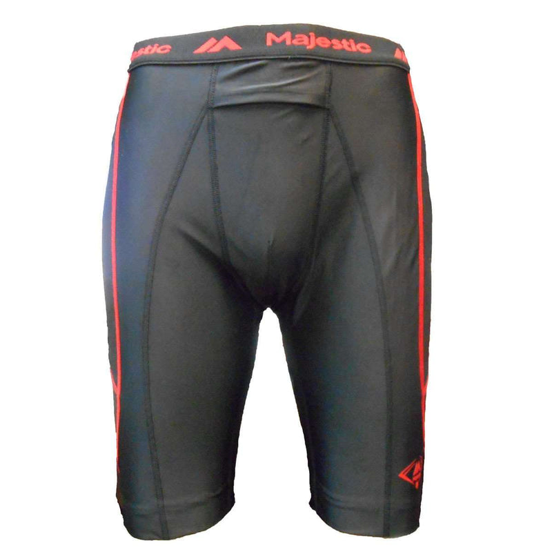 Majestic Cool Base Youth Slider Short - League Outfitters