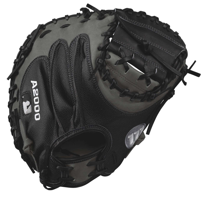 "Wilson A2000 1790 SuperSkin 34"" Baseball Catcher's Mitt - League Outfitters"