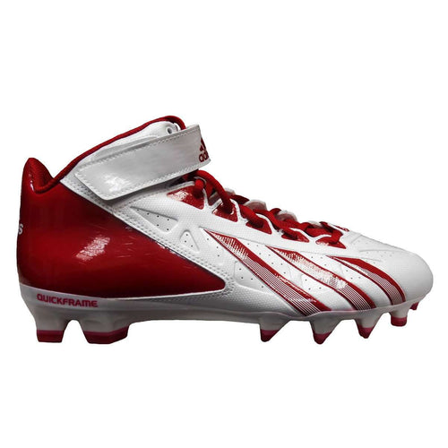 adidas AS SMU Filthy Quick Hi NCAA Football Cleats - League Outfitters