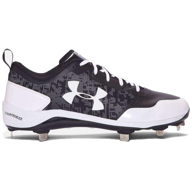 Under Armour Heater Low ST Metal Baseball Cleats - League Outfitters