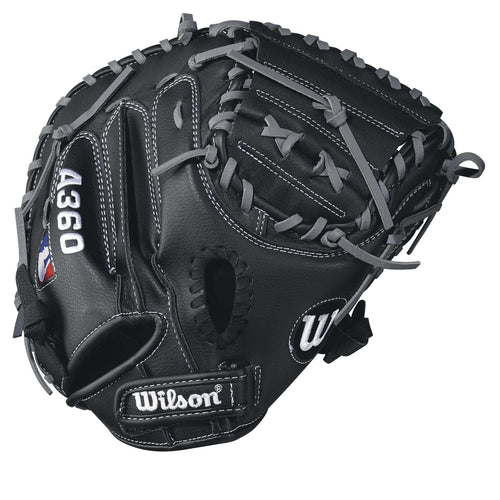 "Wilson A360 32.5"" Catcher's Mitt - League Outfitters"