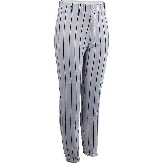Rawlings Adult Polyester Pinstriped Baseball Pants - League Outfitters