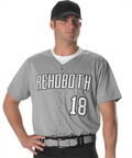 Alleson Full Button Lightweight Baseball Jersey - League Outfitters