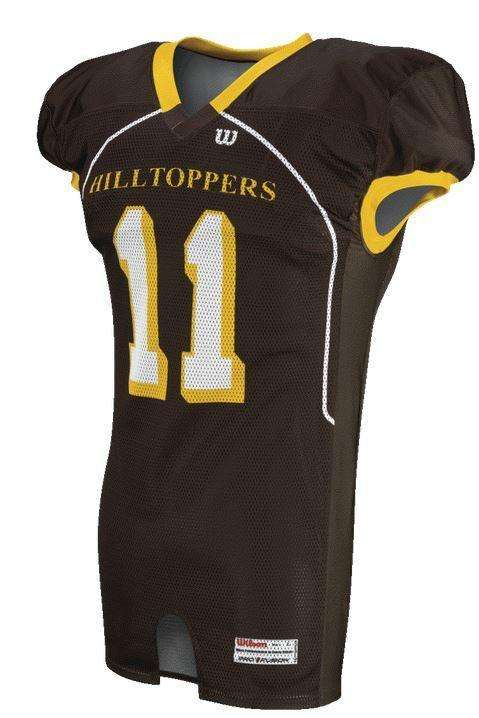 636b38ac1 Wilson Youth Sublimated Football Jersey - Hilltoppers – League Outfitters