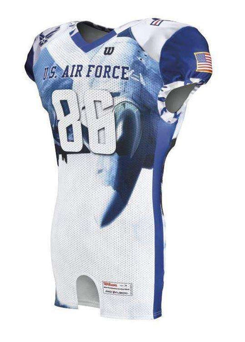 Wilson Youth Sublimated Football Jersey - Air Force - League Outfitters