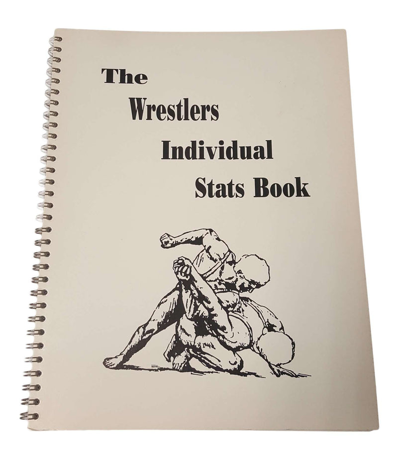 The Wrestlers Individual Stat Book - League Outfitters
