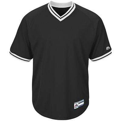 Majestic Cool Base V-Neck Jersey - League Outfitters