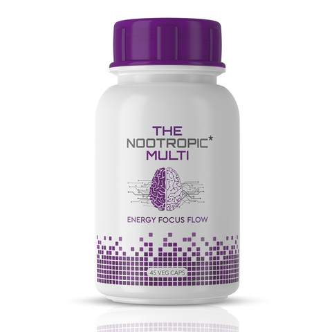 The Nootropic Multi Energize 45 Veg Caps