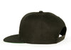 All Black On Black Iconic Snapback Cap - by Khenti-Renaissance
