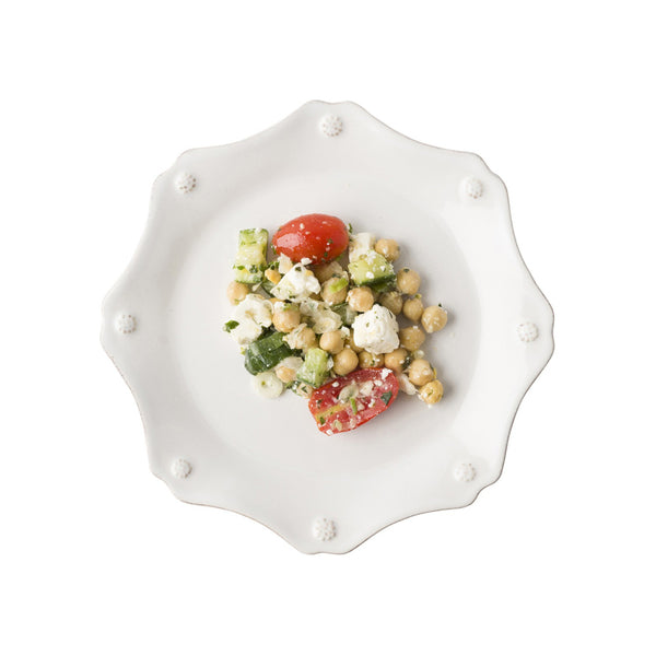 Juliska Berry & Thread Scallop Salad/Dessert Plate