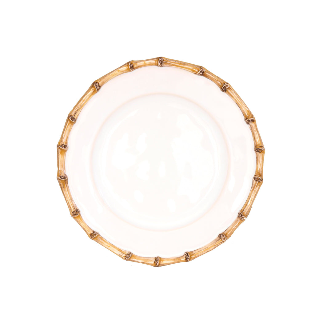 Classic Bamboo Side/Cocktail Plate