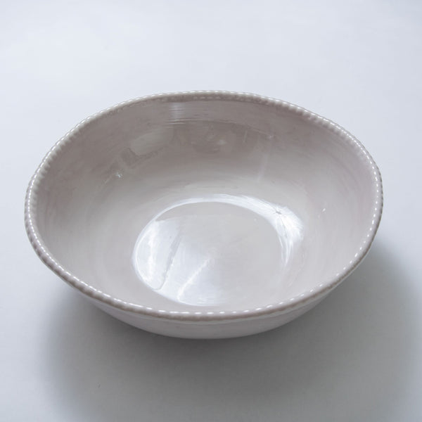 Relish Melamine Beaded Serving Bowl