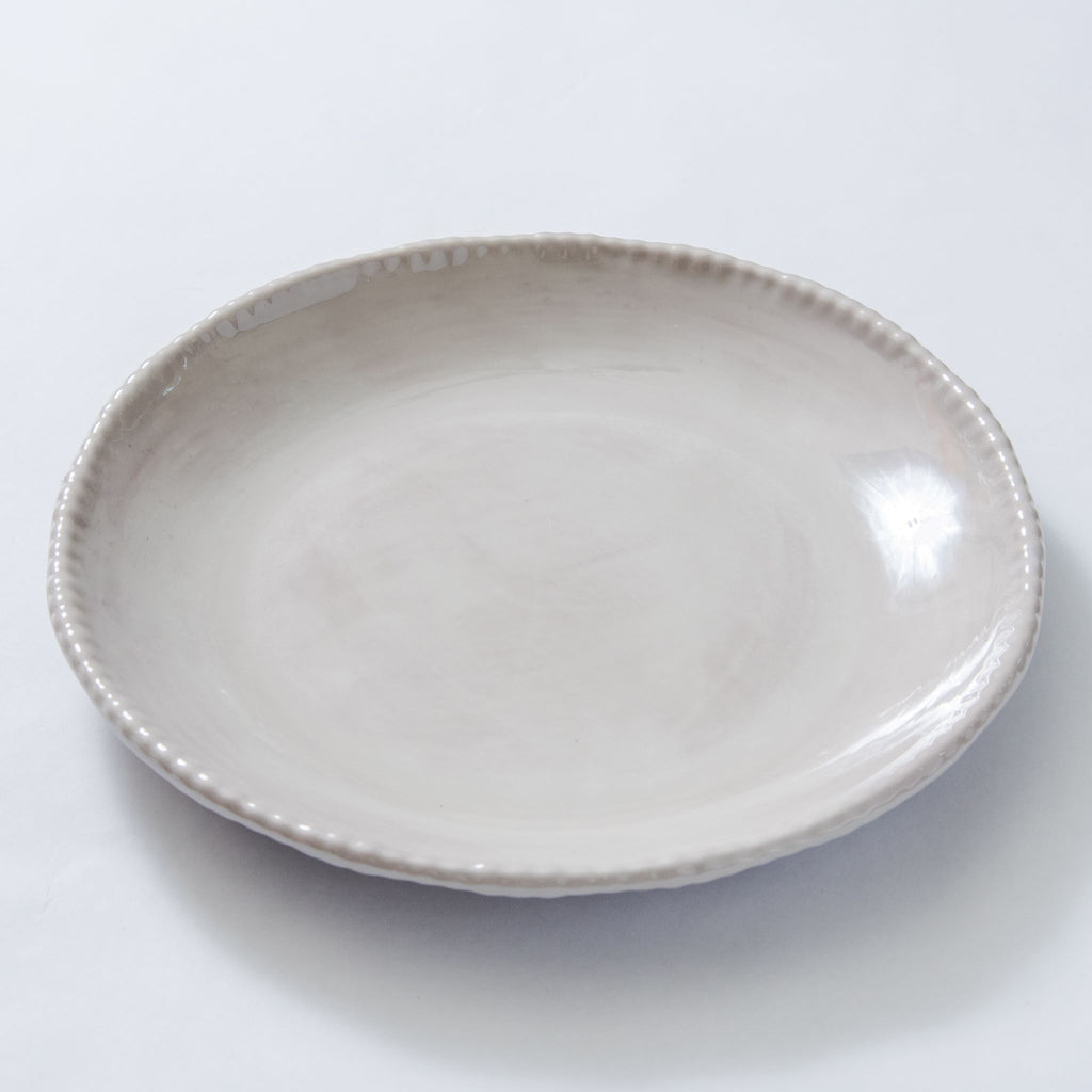 Relish Melamine Beaded Salad Plate