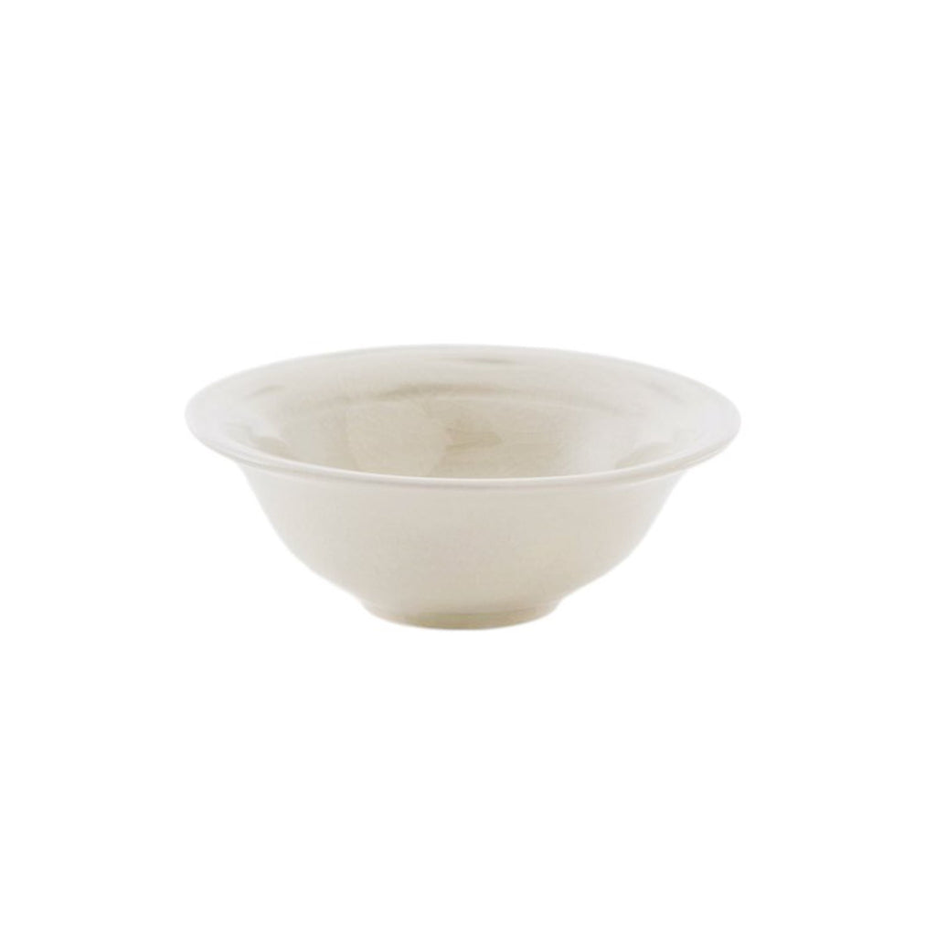 "Belmont 6"" Bowl - Crackle Ivory"