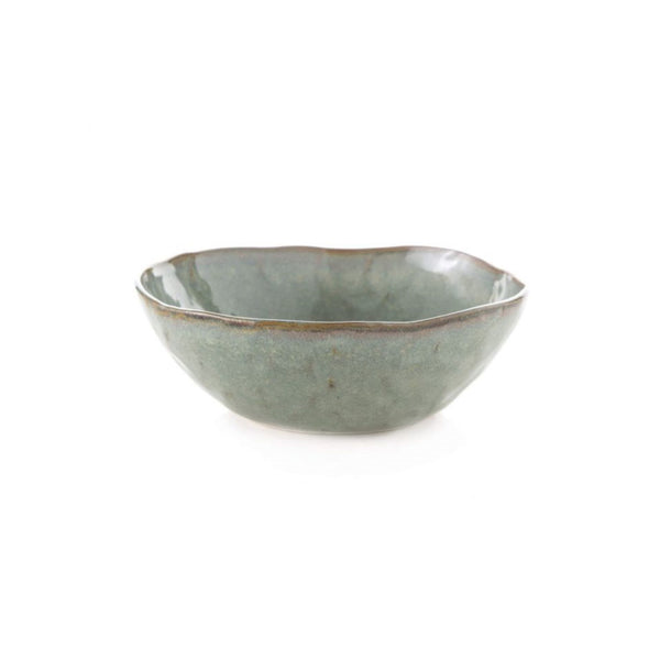 "Simon Pearce Burlington 6"" Bowl - Moss Glen"