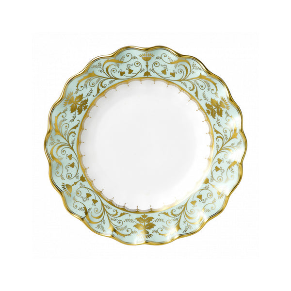 Darley Abbey Fluted Dessert Plate
