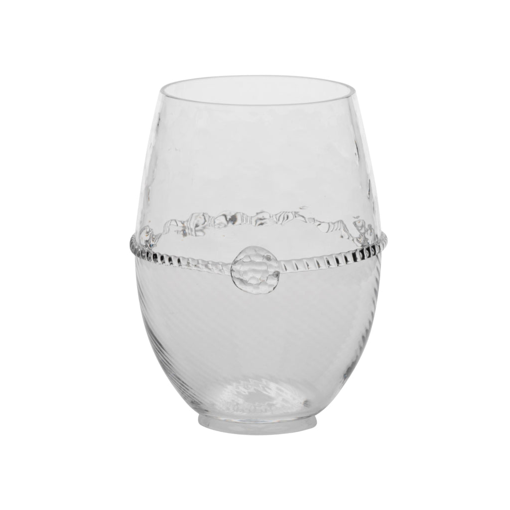 Juliska Graham Stemless White Wine Glass