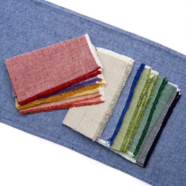 Herringbone Fringed Napkin (set of four)