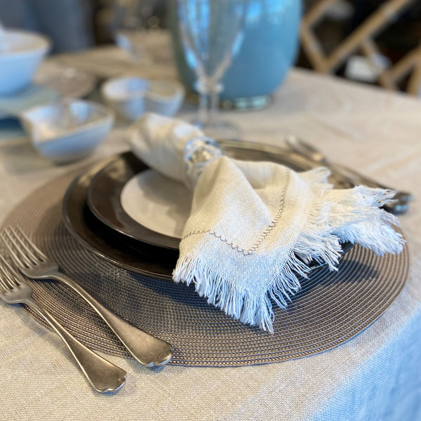 Zigzag Stitch Napkin (set of four)