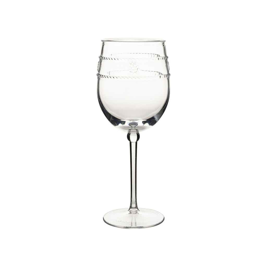 Juliska Isabella Acrylic Wine Glass