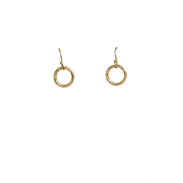 Floating Circle Earrings