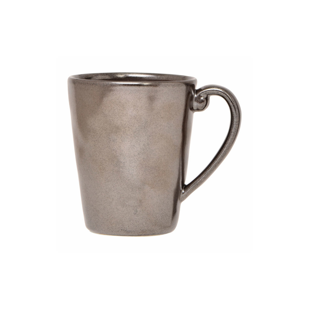 Pewter Stoneware Coffee/Tea Mug