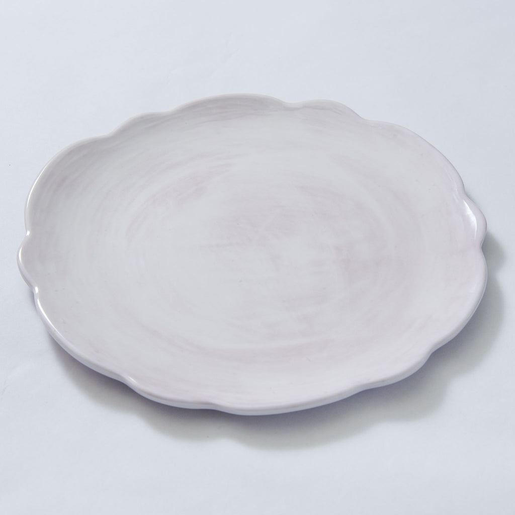 Melamine Scalloped Salad Plate