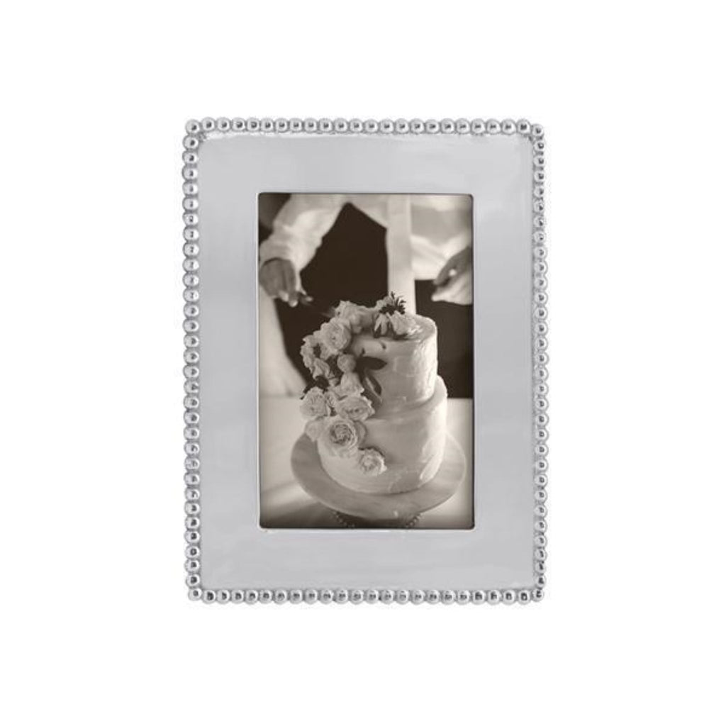 Beaded Engravable Photo Frame