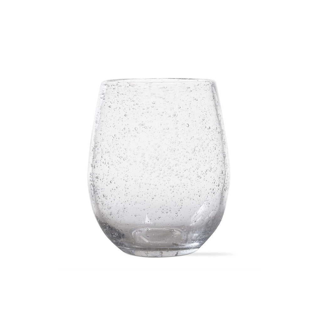 Bubble Glass Stemless Wine