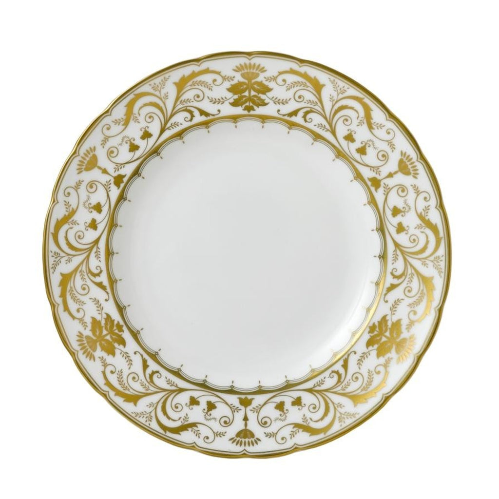 Darley Abbey White Dinner Plate