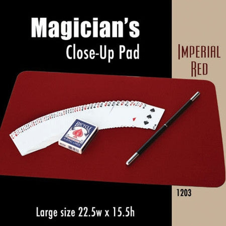 Large Size Close-up Pad (Imperial Red) 22.5  x 15.5