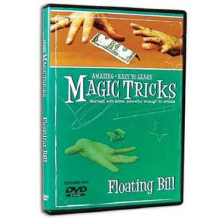 Amazing Easy To Learn Magic Tricks- Floating Bill (with gimmicks)
